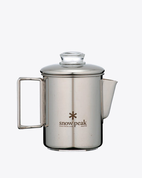 Snow Peak - Stainless Coffee Percolator