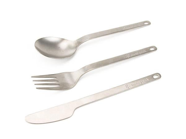 Snow Peak - Titanium Full Silverware Set - 2