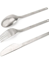 Snow Peak - Titanium Full Silverware Set - 3