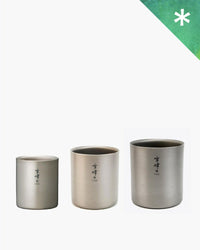 Stacking Mug Set H - Snow Peak