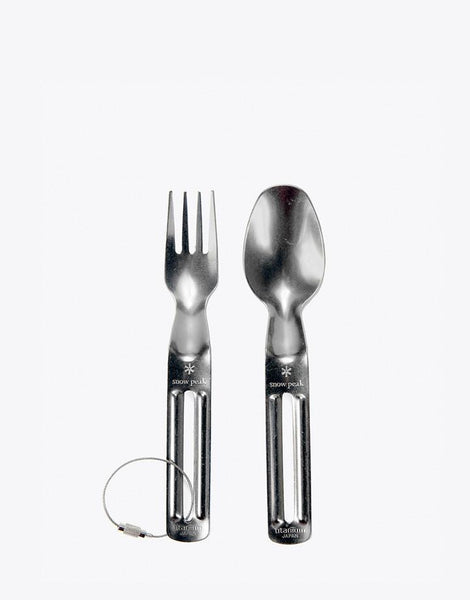Ti-Backpacker Fork & Spoon - Snow Peak