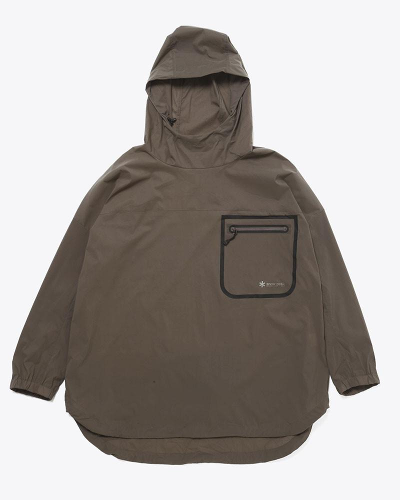 Rain and Wind Resistance Poncho - Snow Peak