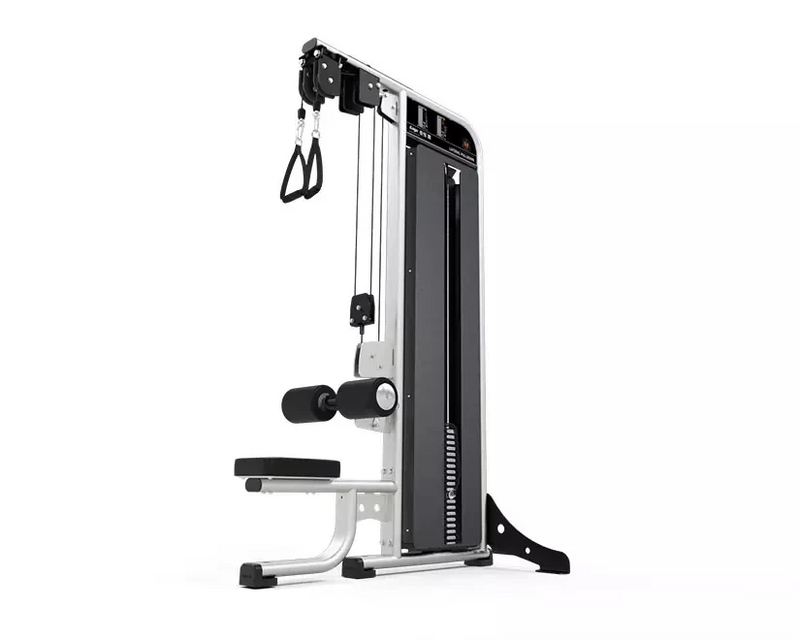 Exigo Selectorised Dual Cable Lateral Pulldown