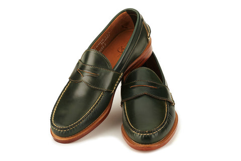 1d9411b94ef You simply can t find something like this anywhere else. Rancourt and  Company Beefroll Penny Loafers ...