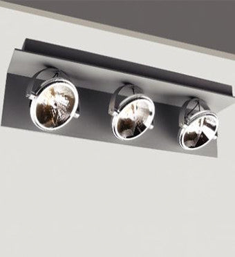 AS0015 Triple Directional Adjustable Ceiling Mount Lighting from Ambience Systems Queenstown