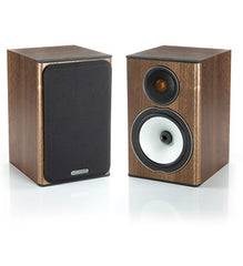 Walnut Monitor Audio BX1 Speakers - Audio and Sound from Ambience Systems Queenstown
