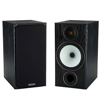 Black Monitor Audio BX2 Speakers - Audio Sound from Ambience Systems Queenstown.