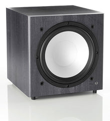 Black Monitor Audio BXW10 Subwoofer Speaker - Audio sound from Ambience Systems Queenstown