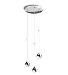 Falling Star Trio Round Suspension Pendants from Tobias Grau - Lighting from Ambience Systems Queenstown