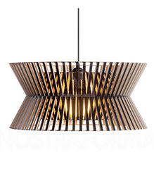 Secto Kontro 6000 Pendant Light - Natural Wooden Designer Lighting from Ambience Systems Queenstown