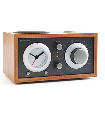 TIVOLI AUDIO MODEL THREE AM/FM CLOCK RADIO
