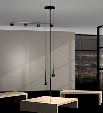 falling water 3 suspension pendants from tobias grau. Black Bedroom Furniture Sets. Home Design Ideas