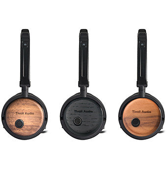 Tivoli Audio Noise Canceling Headphones - earphones with wooden texture - Audio and Sound from Ambience Systems Queenstown