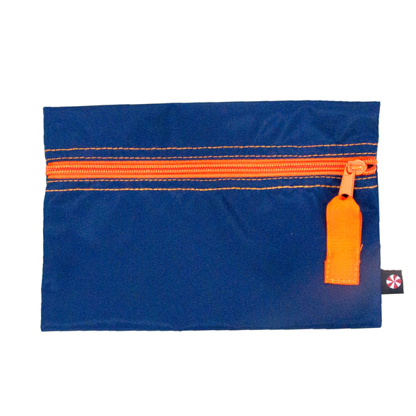 Navy & Orange Nylon