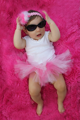 Fluffy and Fabulous Tutu in Pink