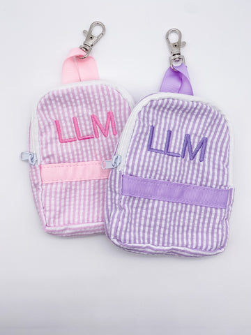 Personalized Clip on Mask Pouch