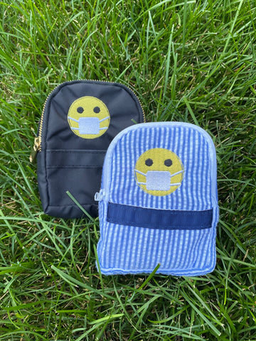 Clip on Mask Pouch
