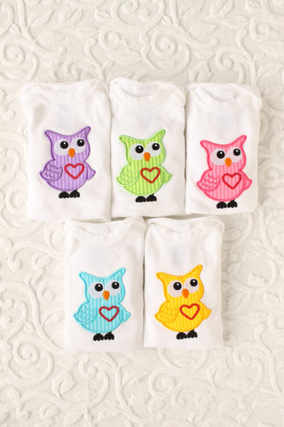 Whooo Do You Love? Owl Onesie