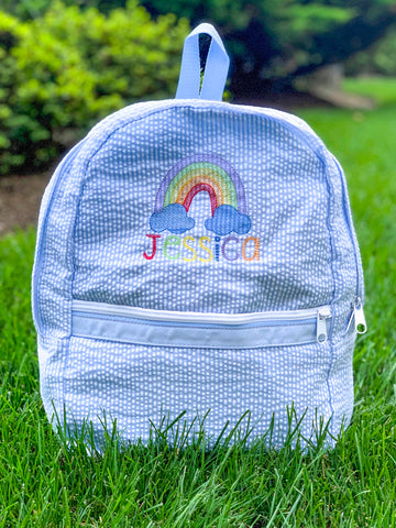 Rainbow Small Backpack