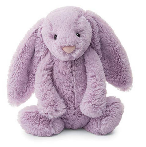 Lavender Monogrammed Jellycat Bunny