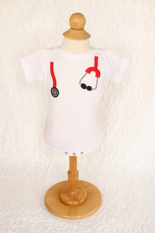 The Dr. Is In! Stethoscope Onesie