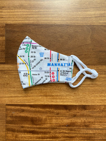 Manhattan Subway Mask