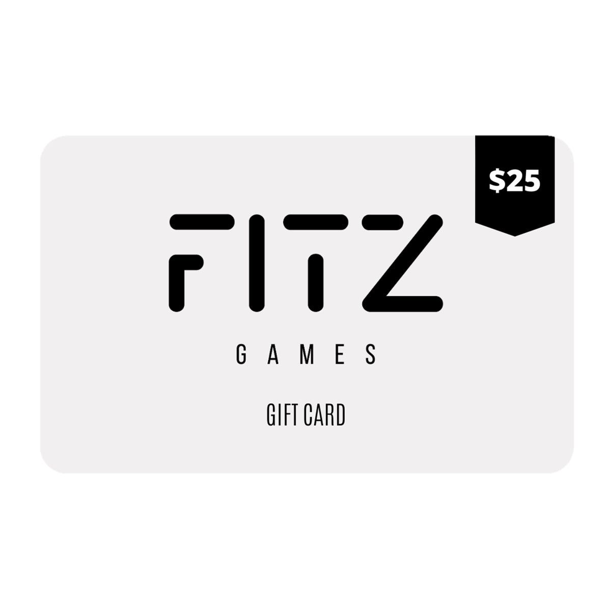 $25 FITZ Games Gift Card