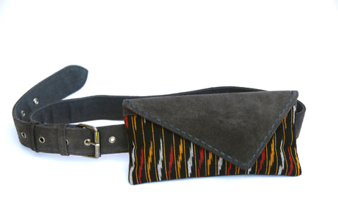 SUEDE IKAT HIPSTER - TRAMA - SOLD OUT