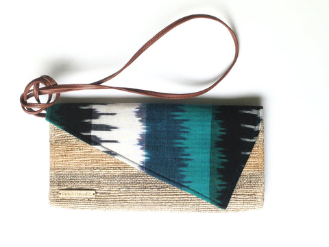 BANANA FIBER & IKAT CROSS BODY - TRAMA