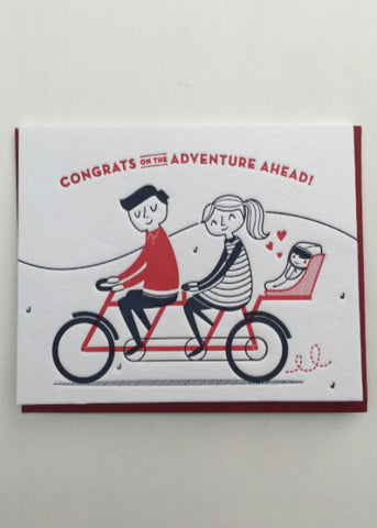 Adventure Ahead Greeting Card
