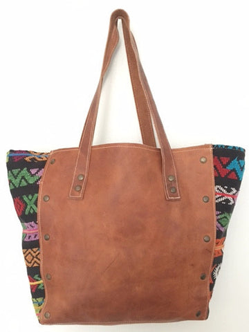 Leather & Zunil Tote