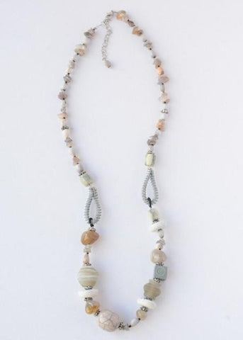 River Stone Necklace