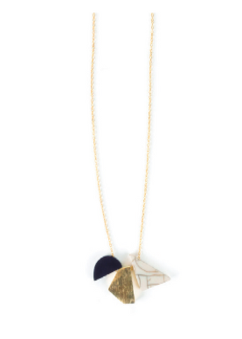 Geo Shapes Necklace
