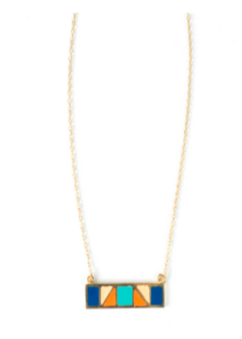 Mondrian Bar Necklace
