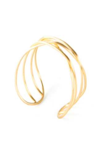 Cohesion Cuff- Gold