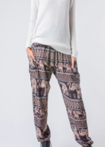 Lenana Elephant Pants