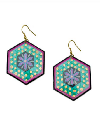 Hex Bollywood Earrings