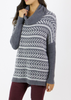 Bamboo Cowl Neck Pullover