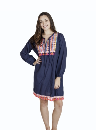 Frida Fringe Dress