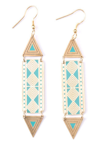 Amadou Earrings