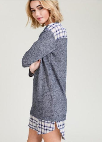Spa Creek Tunic- Blue