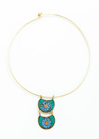 Mosaic Collar Necklace