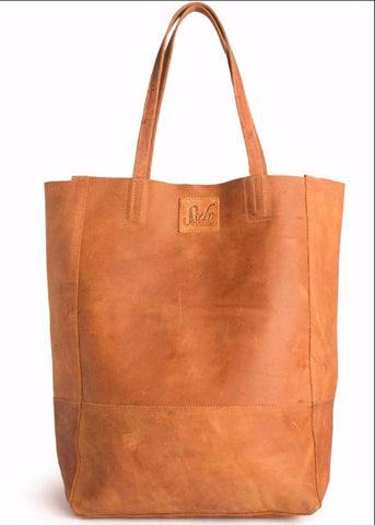 Safari Leather Bucket Bag