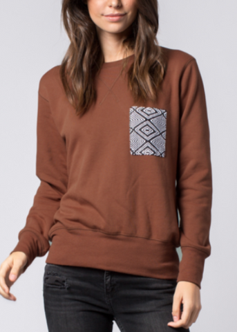 Pocket Crew Sweatshirt