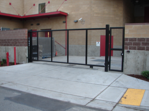 Delivery dock auto gate