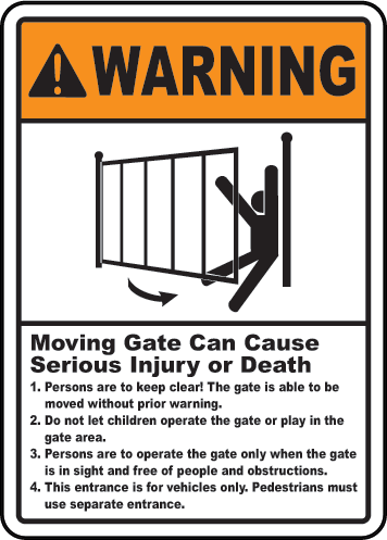 Warning Sign - trinitygate - 1