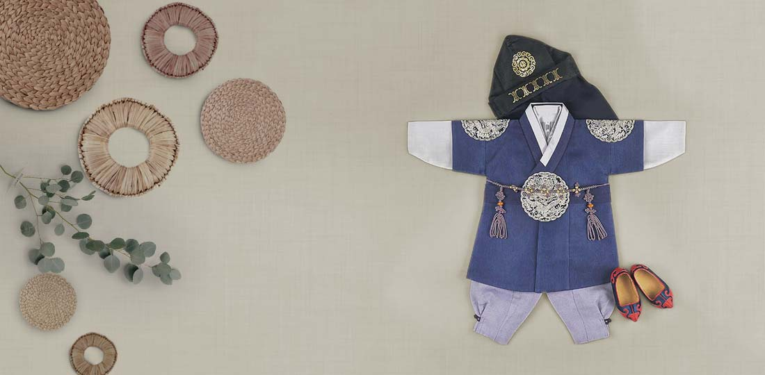Baby Boy Hanbok for Dol and other Korean Celebrations