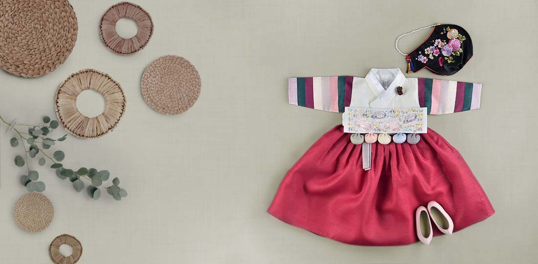 Baby Girl Hanbok for Dol and other Korean Holidays