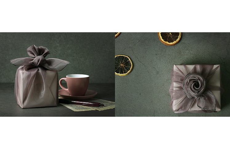 All of your special gifts can be wrapped using Korean Bojagi from small to large.