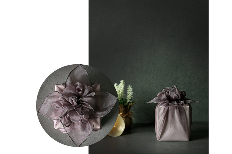 You can use Bojagi wrapping cloths to add charm to any occasion, whether it's Dol or Christmas.
